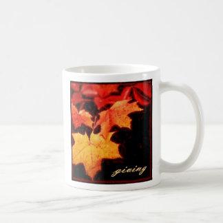 giving, giving... classic white coffee mug