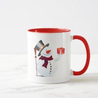 Giving Snowman for Christmas / X-mas