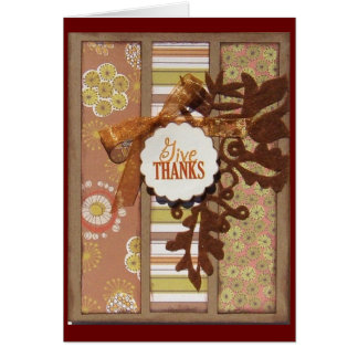 Giving Thanks -2 Greeting Cards