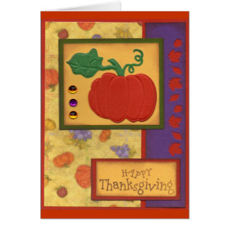 Giving Thanks -5 Card