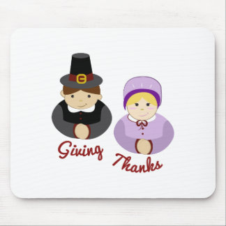 Giving Thanks Mouse Pad