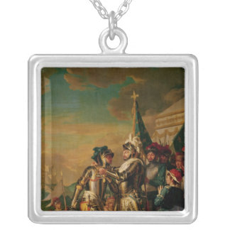 Giving the Chain of the Order of Saint-Michel Silver Plated Necklace