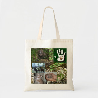 Giving Wildlife a Hand Tote Bag