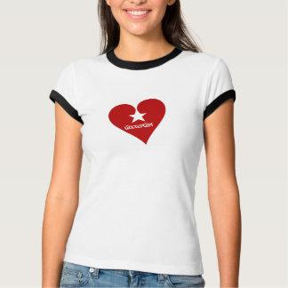 GixxerGirl Heart Ringer Tee