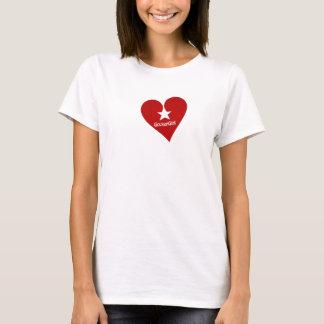GixxerGirl Heart Star T-Shirt