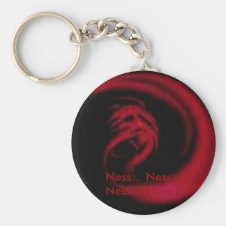 Giygas Basic Round Button Keychain