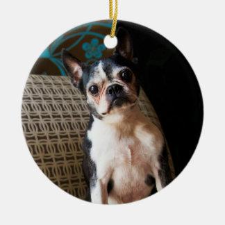 Giz Better and Better Boston Terrier Ornament