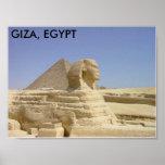 GIZA, EGIPTO POSTERS