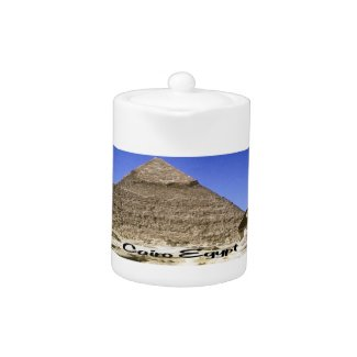 Giza Egypt Sunrise Teapot