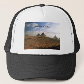 Giza Egypt Sunrise Trucker Hat