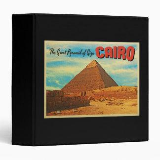 Giza Pyramid Cairo Egypt Binder