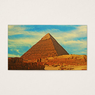 Giza Pyramid Cairo Egypt Business Card