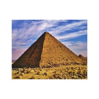 Giza Pyramid Canvas Print