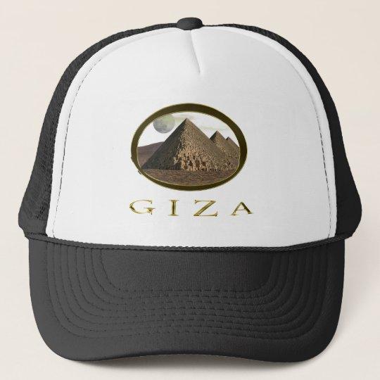 Giza Pyramids Items Trucker Hat