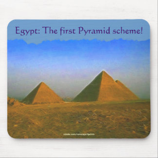 Giza Pyramids of Egypt Business Humour Mousepad