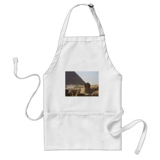 Giza Pyramids & Sphinx photo Adult Apron