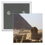 Giza Pyramids & Sphinx photo Button