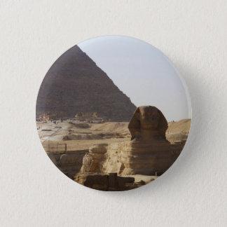 Giza Pyramids & Sphinx photo Pinback Button