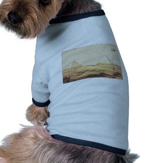 Giza Spaceship Dog Shirt