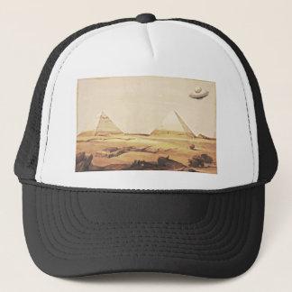 Giza Spaceship Trucker Hat