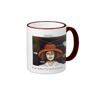 Gizmo #2, GIZMO, By Leah Saulnier The Painting ... Ringer Coffee Mug