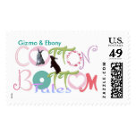Gizmo & Ebony Cotton Bottom Tales Stamps