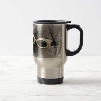 Gizmo the Dog that Helps others 15 Oz Stainless Steel Travel Mug