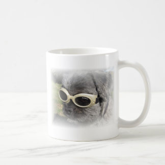 Gizmo the Dog that Helps others Classic White Coffee Mug