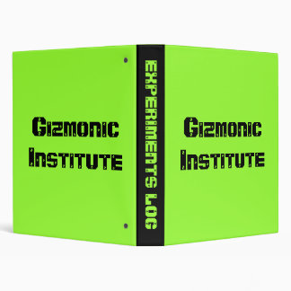 Gizmonic Institute 3 Ring Binder