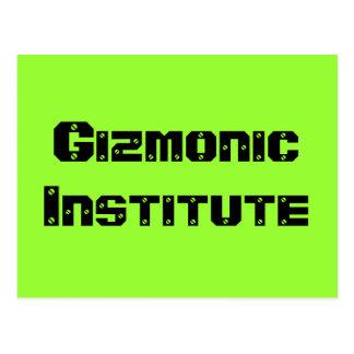 Gizmonic Institute Postcard