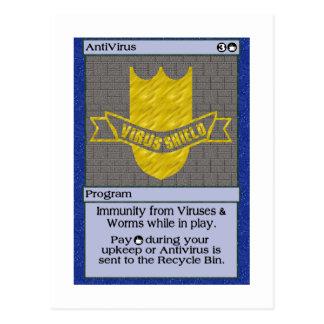 GK: Anti-virus Postcard