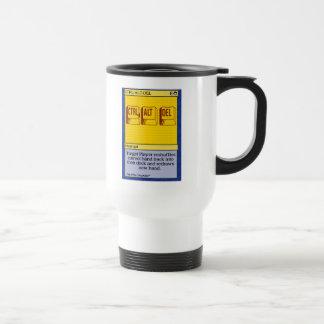 GK: Ctrl+Alt+Del Coffee Mugs
