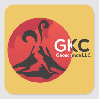 GKC Geoscience Logo Stickers