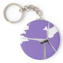 GKWF purple Keychain