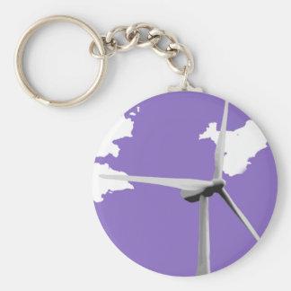 GKWF purple Key Chains