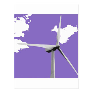 GKWF purple Postcard