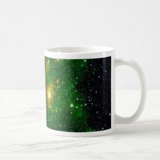 GL490 Green Gas Cloud Nebula Classic White Coffee Mug