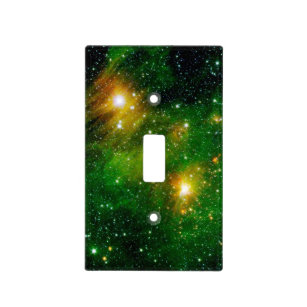 Gl490 Green Gas Cloud Nebula Nasa E Photo Light Switch Cover