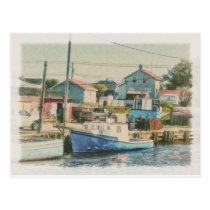 Glace Bay Cape Breton Nova Scotia Canada Postcard