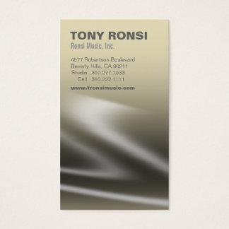 Glacé Music Business Card (mojave)