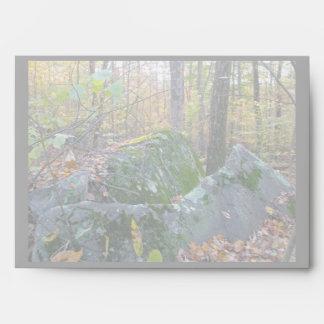 Glacial Boulders Montgomery County Pennsylania Envelope