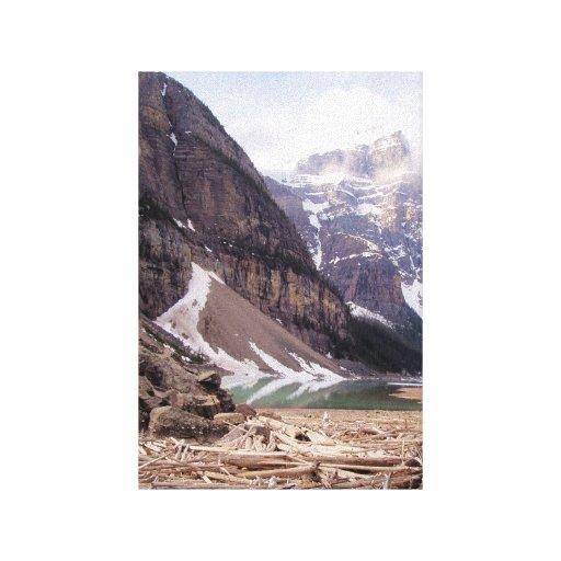 Glacial Debris - Canvas Print