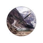 Glacial Debris Round Wallclock