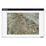 "Glacial Ice Abstract Nature Textured Design 13"" Laptop Skins"