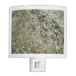 Glacial Ice Abstract Nature Textured Design Night Light