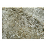 Glacial Ice Abstract Nature Textured Design Photo Print