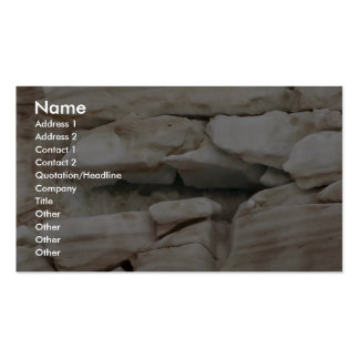 Glacial ice business card
