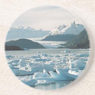 Glacial Icebergs Coaster