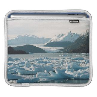 Glacial Icebergs Sleeve For iPads