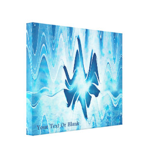 Glacial Lake Canvas Print